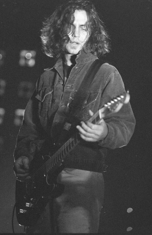1994: Vedder doing a Mike McCready impression. Photo: Time & Life Pictures, Getty Images / Time & Life Pictures