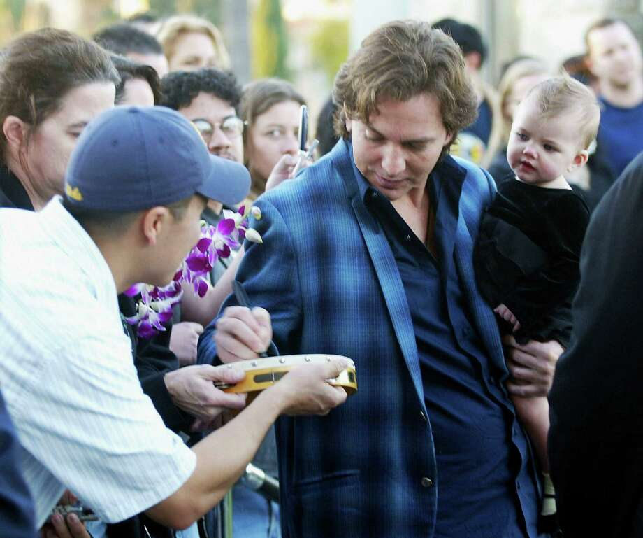 2005: Vedder with a more grown up flannel. Photo: Matthew Simmons, Getty Images / 2005 Getty Images