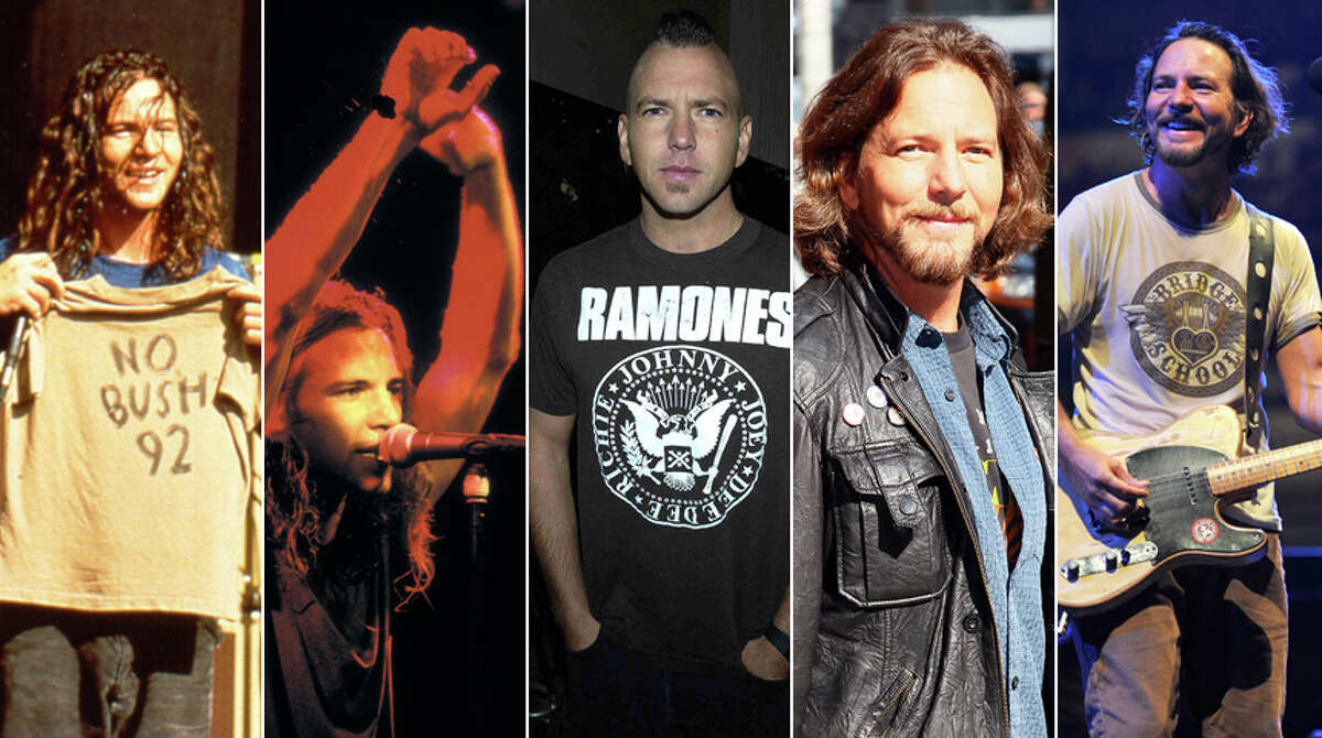 Seattle's favorite adopted son is speeding toward 50. Eddie Vedder turned 49 on Monday. Take a look back.