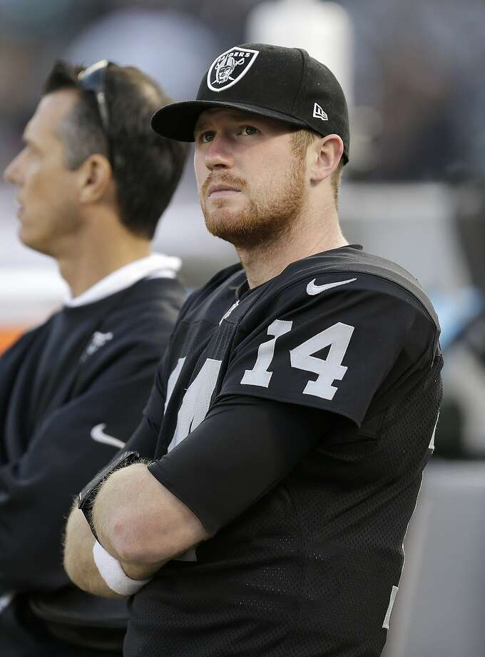 Matt McGloin is No. 2 on the depth chart behind former Texans QB Matt Schaub. Photo: Ben Margot, Associated Press