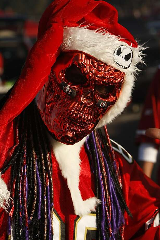 """Dr. Voodoo"" poses for a portrait in the before a 49ers game against the Atlanta Falcons at Candlestick Park on December 23, 2013 in San Francisco, Calif. This will be the last regular-season game at Candlestick Park. Photo: Pete Kiehart, The Chronicle"