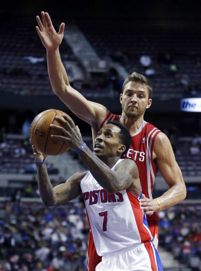 Dec. 21: Rockets 114, Pistons 97  A shorthanded Rockets team cruised by the Pistons a night after a beatdown from the Pacers. Dwight Howard picked up the slack in James Harden's absence racking up 35 points and 19 rebounds.  Record: 18-10 Photo: Duane Burleson, Associated Press