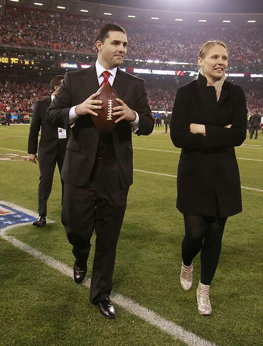 49ers owner Jed York exits the field at Candlestick following the game, Monday, December 23, 2013 in San Francisco, Calif. Photo: Beck Diefenbach, Special To The Chronicle