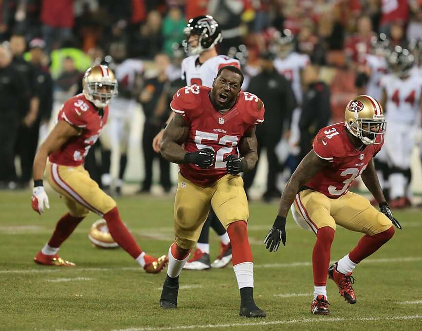 San Francisco 49ers linebacker Patrick Willis (52), who had 18 tackles in Monday night's game against the Atlanta Falcons on Monday, Dec. 23, 2013 in San Francisco, Calif. Photo: John Storey, For The Chronicle