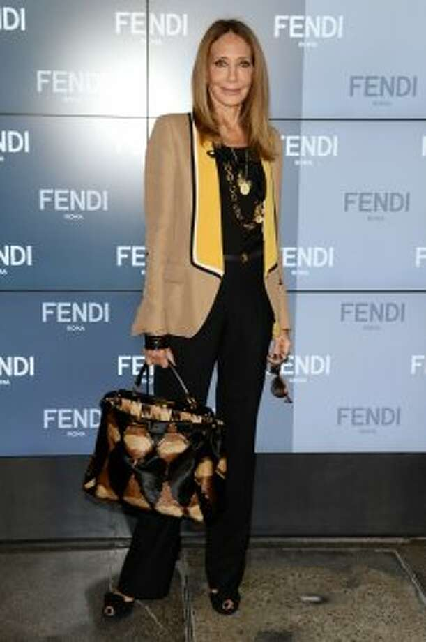 Marisa Berenson in Milan, Italy on September 19, 2013. Berenson was born in 1947. Photo: Venturelli, WireImage