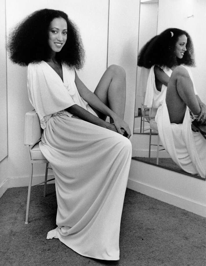 Model Pat Cleveland  on August 24, 1977 in New York City. Photo: Ron Galella, WireImage