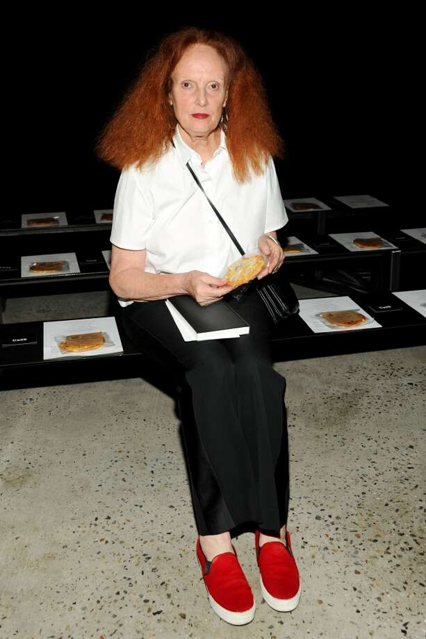 Grace Coddington on September 8, 2013 in New York City.  Coddington was born in 1941. Photo: Ben Gabbe, Getty Images