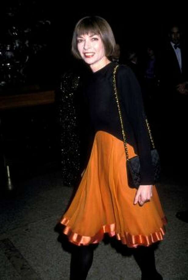 Vogue editor-in-chief Anna Wintour, 1988. Photo: Ron Galella, WireImage
