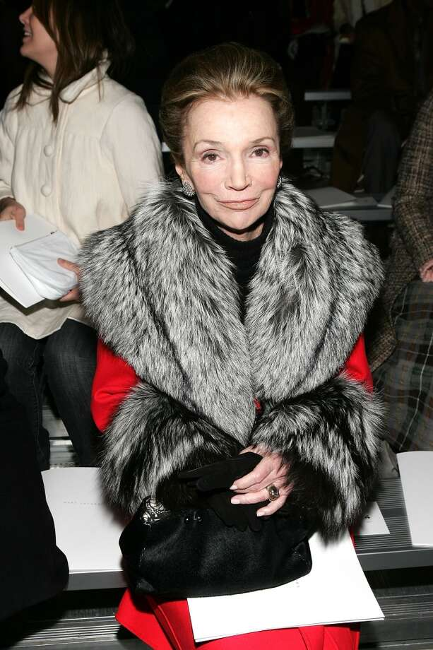 Lee Radziwell on February 5, 2007 in New York City. Radziwell was born in 1933. Photo: Evan Agostini, Getty Images