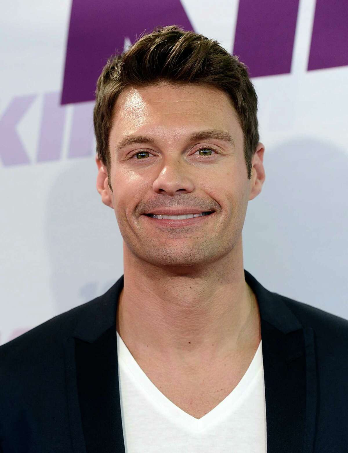 Television and radio personality Ryan Seacrest arrives at Wango Tango 2013 at The Home Depot Center, Saturday, May 11, 2013, in Carson, Calif. (Photo by Dan Steinberg/Invision/AP)