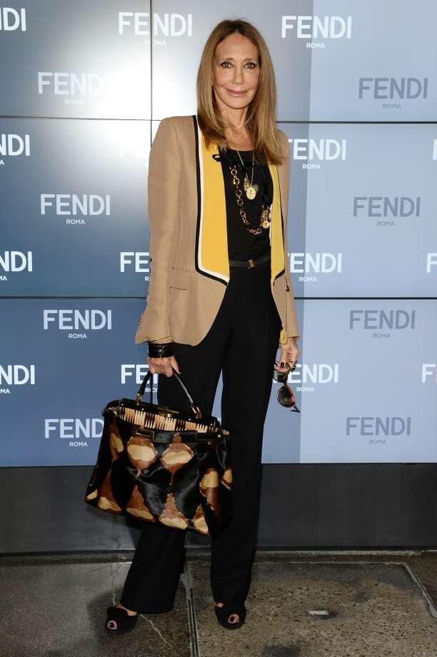Marisa Berenson in Milan, Italy on September 19, 2013. Berenson was born in 1947. Photo: Venturelli, WireImage