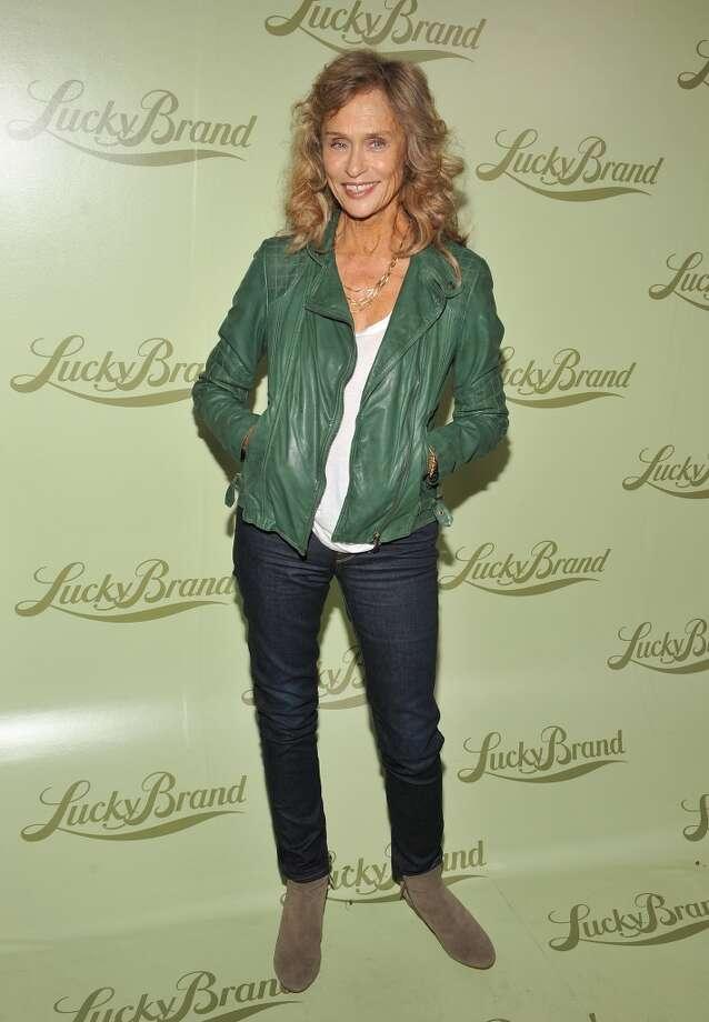 Lauren Hutton in Beverly Hills, California on October 29, 2013.  Hutton was born in 1943. Photo: Angela Weiss, WireImage