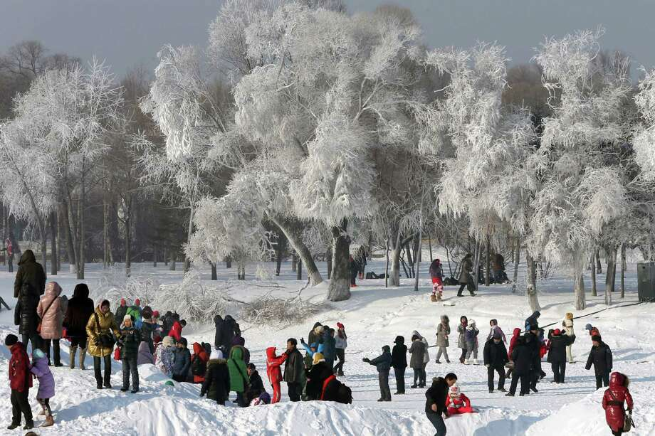 Harbin has no worries about a white Christmas. Photo: Hong Wu, Getty Images / 2013 Hong Wu