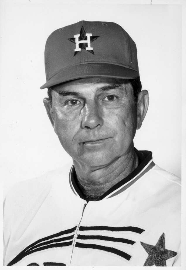 Grady Hatton Oct. 7, 1922 – April 11, 2013The former major league third baseman who managed the Astros in the 1960s, Hatton hit .254 with 91 home runs and 533 RBIs in 1,312 major league games in 12 seasons from 1946 to 1960 with six major-league teams. He had a 164-221 record as Houston's manager from 1966-68. Hatton died from natural causes at the age of 90. Photo: Houston Chronicle File Photo