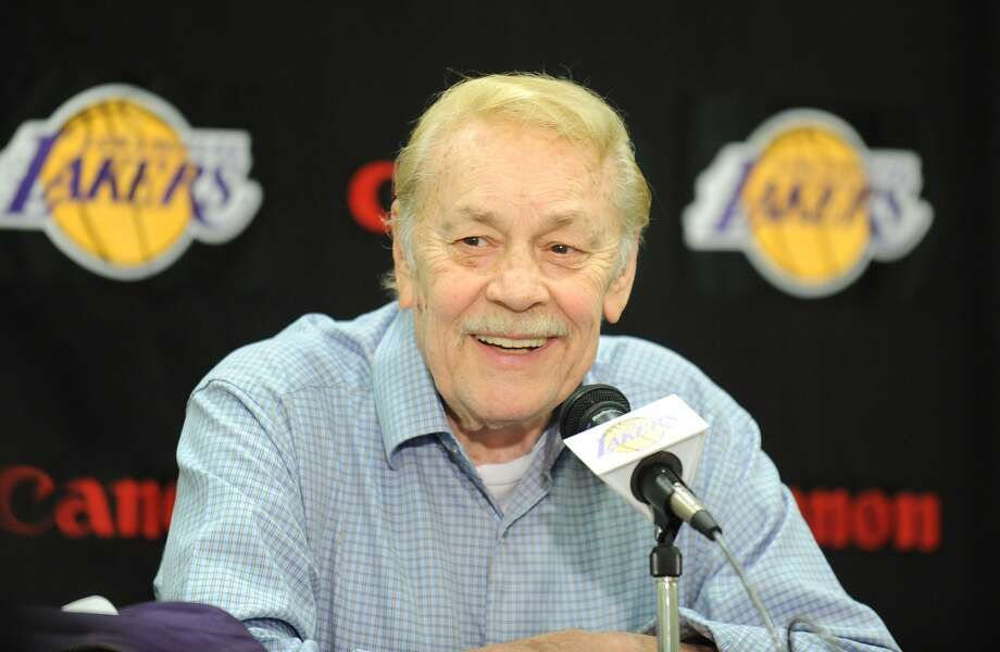 Dr. Jerry Buss Jan. 27, 1933 – Feb. 18, 2013The Los Angeles Lakers' playboy owner transformed the Lakers into Southern California's most beloved sports franchise and a worldwide extension of Hollywood glamour after buying the club in 1979. With Buss' leadership and lavish spending, the Lakers won five championships during the 1980s Showtime dynasty and added five more in an 11-year span of Kobe Bryant's career. The Lakers made the NBA finals 16 times through 2011 during his 32 years in charge and are the NBA's winningest franchise since he bought the club. After being hospitalized at Cedars-Sinai Medical Center with an undisclosed form of cancer, he died of kidney failure at the age of 80. Photo: Wally Skalij, McClatchy-Tribune News Service