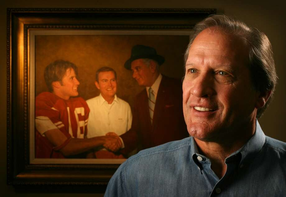 """James Street  August 2, 1948 – Sept. 30, 2013The former Texas quarterback was a backup who took over the UT wishbone offense in 1968. He led the Longhorns to the 1969 national title, winning 20 straight games, including the 15-14 victory over Arkansas in 1969 dubbed the """"Game of the Century"""" followed by a season-capping Cotton Bowl win against Notre Dame. Street was also a standout pitcher, posting a 29-8 record for Texas that included a perfect game (1970 vs. Texas Tech) and no-hitter (1969 vs. SMU). He died of a heart attack at his home in Austin. Photo: Jay Janner, Associated Press"""