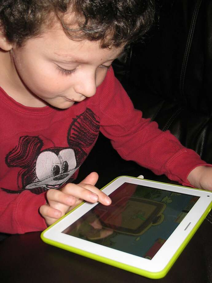 Tablets are great way for kids to start interfacing with technology in a way that's both safe, educational, and won't trash mom and dad's expensive tablet. The Tabeo e2 has all the specs needed to run the newest apps. (MCT) Photo: Handout, McClatchy-Tribune News Service