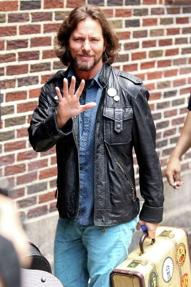 Eddie Vedder  Photo: Christopher Peterson, Getty Images / 2011 BuzzFoto