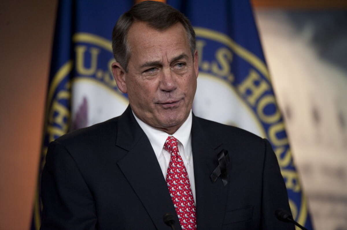 """Ex-House Speaker John Boehner once said he was """"unalternably opposed"""" to legalizing marijuana. Now, says Boehner, his thinking has """"evolved."""""""