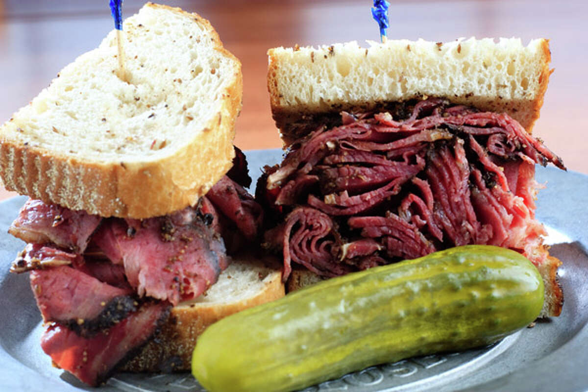 Katz's DeliLocation: There are a couple of locations around town. Click here to find the one nearest you.Christmas Day hours: Katz's never closes... not even on Christmas. 24 hours a day, 7 days a week