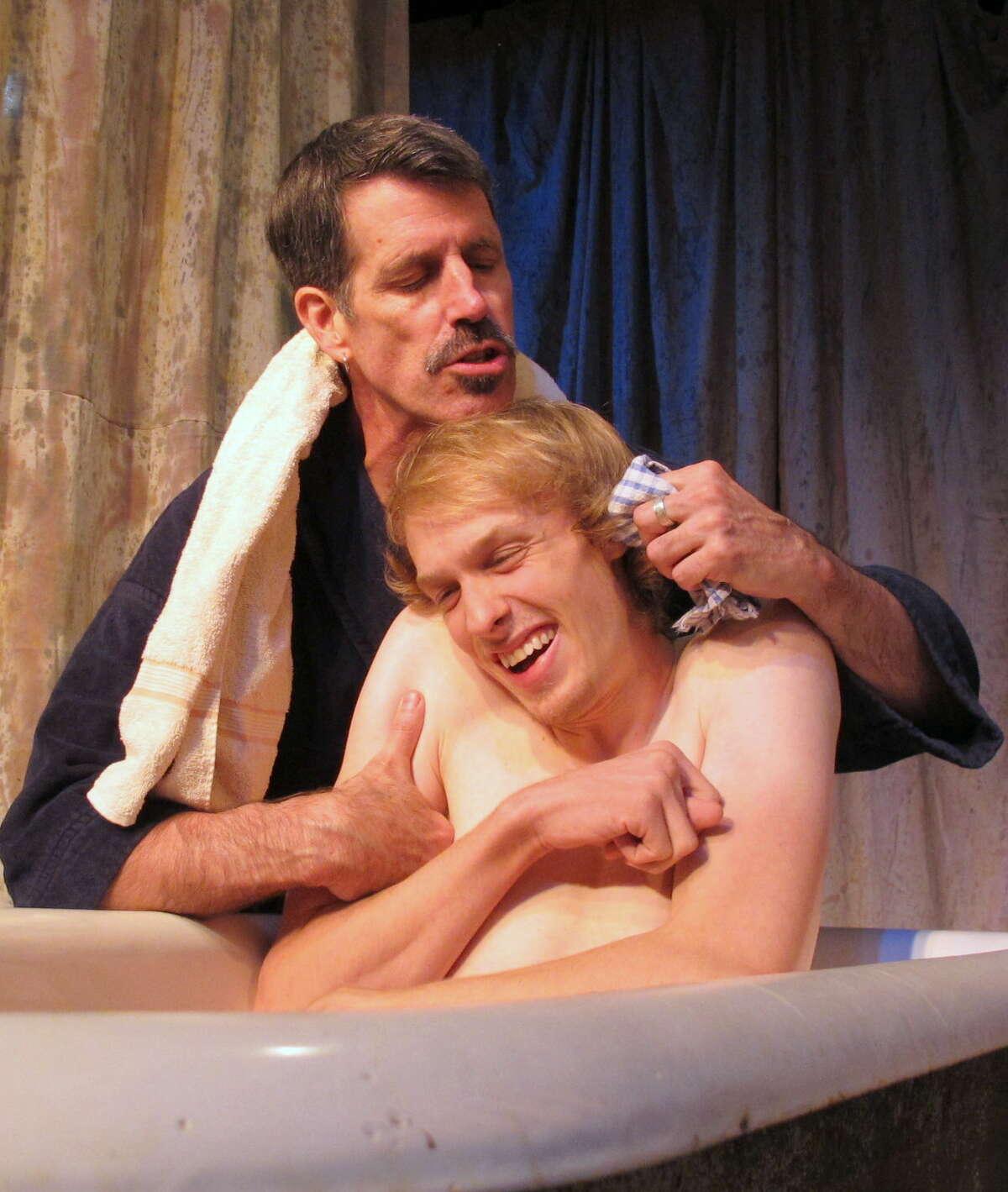 Kill Me Now by Brad Fraser Steven Patterson as Jake, Samuel Hoeksema as Joey Photo: John Sowle
