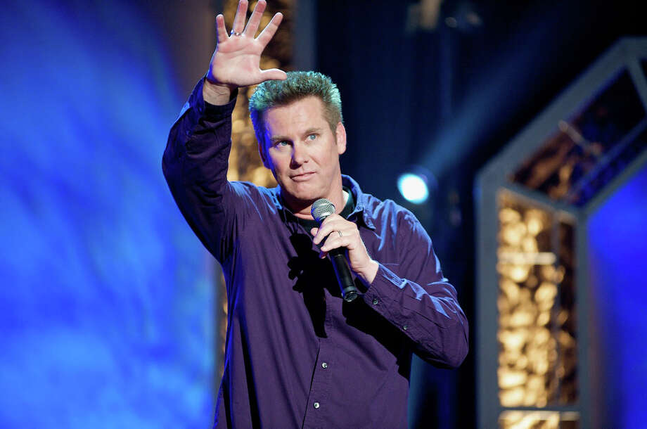 Comedian Brian Regan performs at the Palace Theatre in Stamford on Sunday, Jan. 12. Photo: Contributed Photo / Connecticut Post Contributed