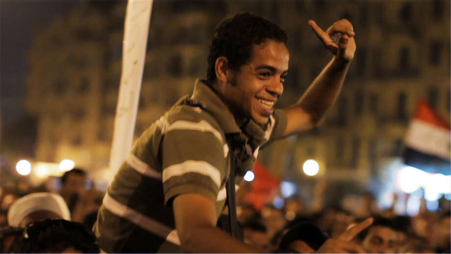 """""""The Square,"""" a documentary about a group of Egyptian revolutionaries, will be screened at Stamford's Avon Theatre on Wednesday, Jan. 8.  It will be followed by a Q-and-A with director Jehane Noujaim. Photo: Contributed Photo / Connecticut Post Contributed"""
