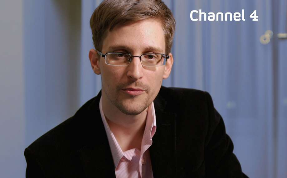 Former NSA contractor Edward Snowden Photo: Channel 4, AFP/Getty Images