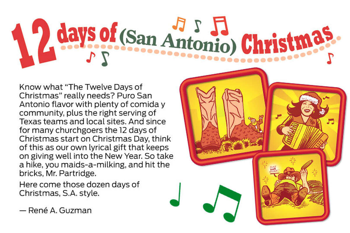 We reimagine the 12 Days of Christmas - S.A. Style