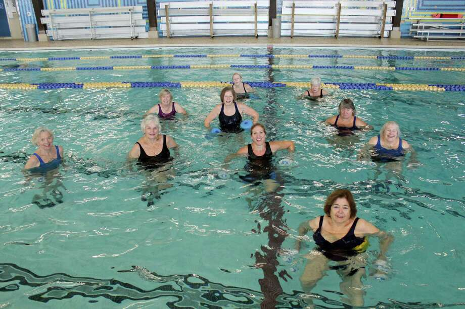 The Darien YMCA offers a variety of programs for local senior citizens, including 15 water exercise classes. Photo: Contributed Photo / Darien News