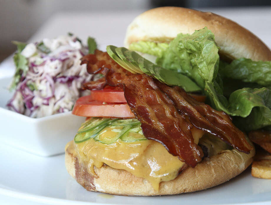 The Sandbar, known for its seafood, also makes a good Mexican Burger. / abuckley@express-news.net