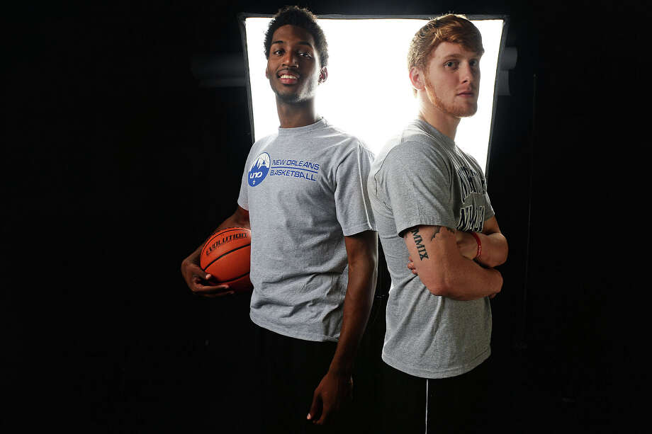 From left, Michael Zeno and Colton Weisbrod are leading their local high school basketball teams  this season and are committed to play at the University of New Orleans next year. Michael Rivera/@michaelrivera