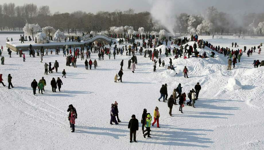 Harbin is known for its bitterly cold winters. Photo: Hong Wu, Getty Images / 2013 Hong Wu