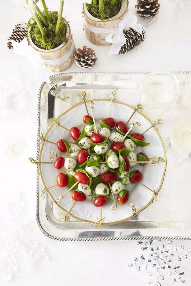 Recipe for Tomato and Mozzarella Bites from Good Housekeeping. Photo: Kate Mathis