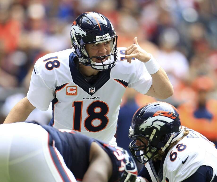 1. Broncos (12-3) Last week: 2 Peyton Manning is the first quarterback in history to throw for at least 50 touchdowns and 5,000 yards in the same season. Photo: Karen Warren, Houston Chronicle