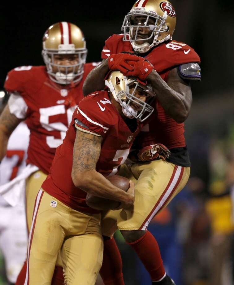 3. 49ers (11-4) Last week: 3The 49ers are 10-2 over their last 12, including a five-game winning streak entering the last game at Arizona. Photo: Nhat V. Meyer, McClatchy-Tribune News Service