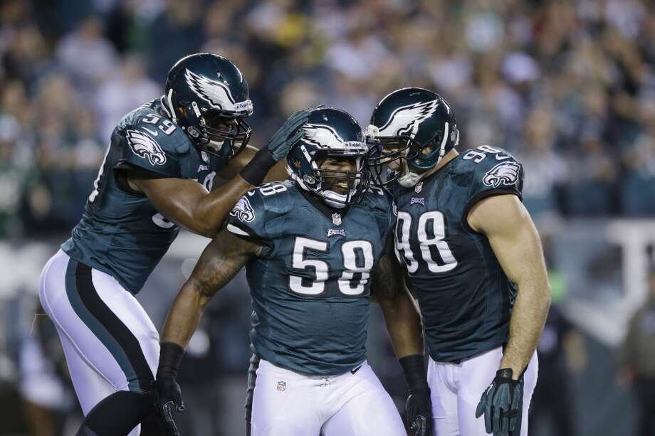 11. Eagles (9-6) Last week: 14If the Eagles win on the road against the Cowboys, they'll win the NFC East in Chip Kelly's first season as their coach. Photo: Michael Perez, Associated Press