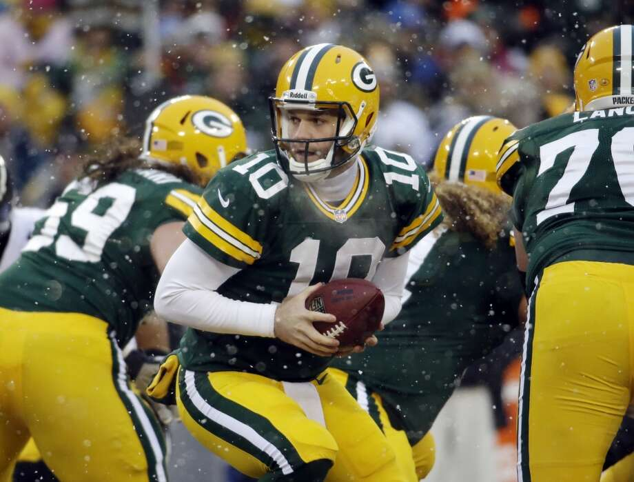 20. Packers (7-7-1) Last week: 15 Despite blowing their home game to Pittsburgh, the Packers can still win the NFC North if they win at Chicago. Photo: Morry Gash, Associated Press
