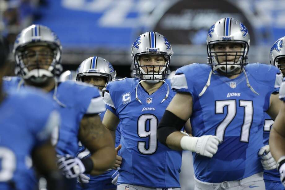 23. Lions (7-8) Last week: 18The Lions were in control of the NFC North, but their late-season collapse will probably cost coach Jim Schwartz his job. Photo: Duane Burleson (18), Associated Press