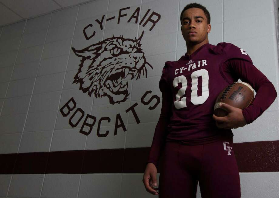 All Greater Houston offensive player of the year, Cy-Fair running back Dillon Birden poses for a portrait on Monday, Dec. 23, 2013, in Cypress. Photo: J. Patric Schneider, For The Chronicle / © 2013 Houston Chronicle