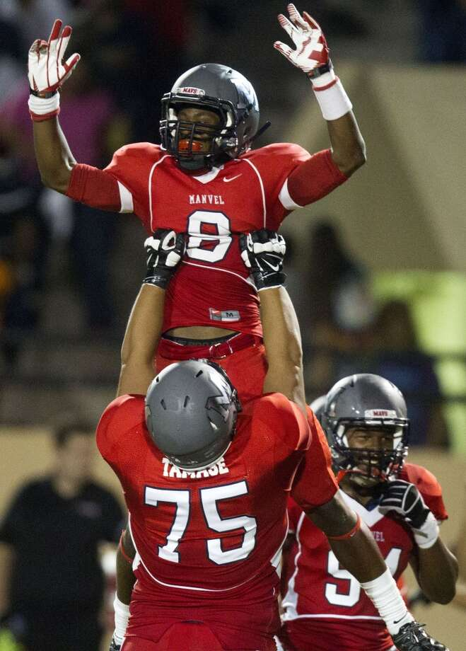 OL Kyle Tamase, Sr., Manvel Photo: J. Patric Schneider, For The Chronicle