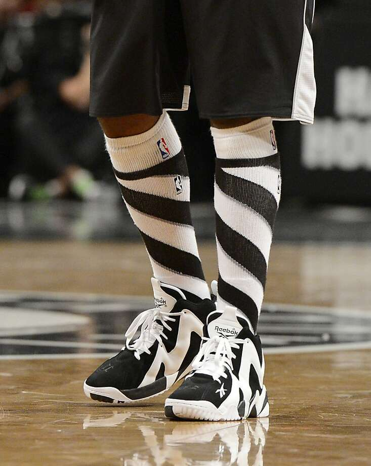 A detailed view of the uniform worn by Jason Terry #31 of the Brooklyn Nets during the third quarter against the Chicago Bulls at the Barclays Center on December 25, 2013 in the Brooklyn borough of New York City. Photo: Christopher Pasatieri, Getty Images