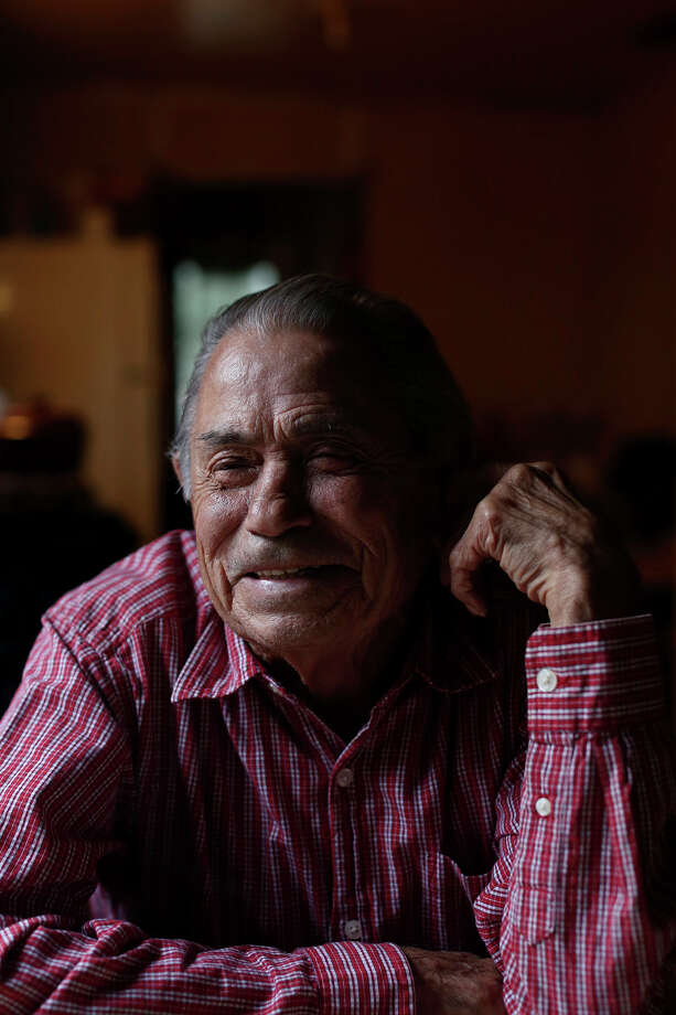 Retired jockey Herbie Hinojosa relaxes at his home in Brownsville on Wednesday, Nov. 13, 2013. Photo: Lisa Krantz, San Antonio Express-News / San Antonio Express-News