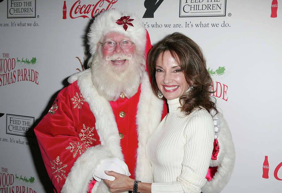 Santa with actress Susan Lucci at the 2009 Hollywood Christmas Parade at The Roosevelt Hotel in Hollywood, Calif., on Nov. 29, 2009. Photo: David Livingston, Getty Images / 2009 David Livingston