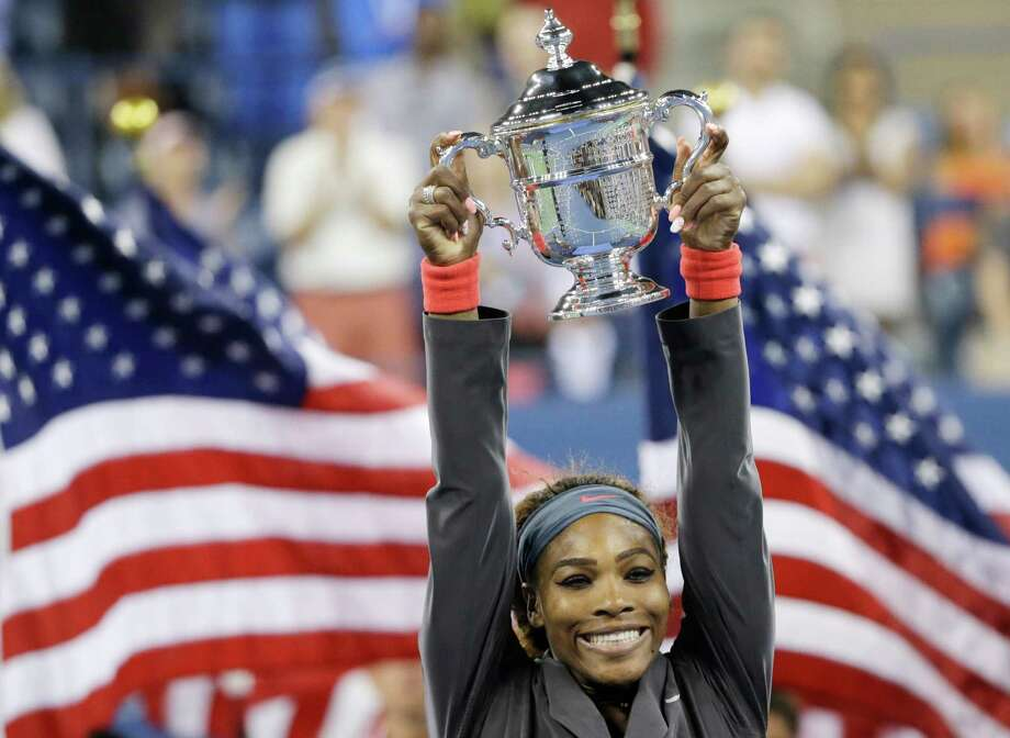 """Serena Williams, tennis starTime calls her """"the champion who won't give up."""" Fellow sports star Dwyane Wade of the Miami Heat writes,  """"There is no doubt that she has made an incredible impact on the world of tennis, but it's her determination to never give up that has always resonated with me. Serena is a friend, but I also look up to her as a fellow athlete."""" Photo: David Goldman / AP"""