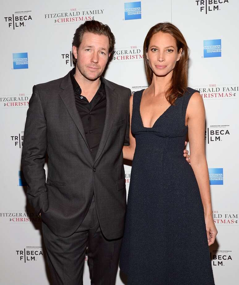 Actor/producer Edward Burns and '90s supermodel-turned-maternal-health-advocate Christy Turlington were married in San Francisco in 2003 after a brief split. They have two kids together. Photo: Mike Coppola, Getty Images