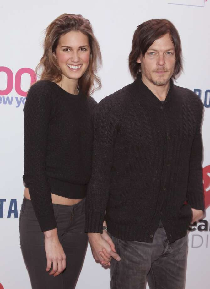 Norman Reedus is now dating model Cecilia Singley. The two hit headlines when they walked the red carpet together at Z100's Jingle Ball 2013 at Madison Square Garden on December 13, 2013. Photo: Jim Spellman, WireImage