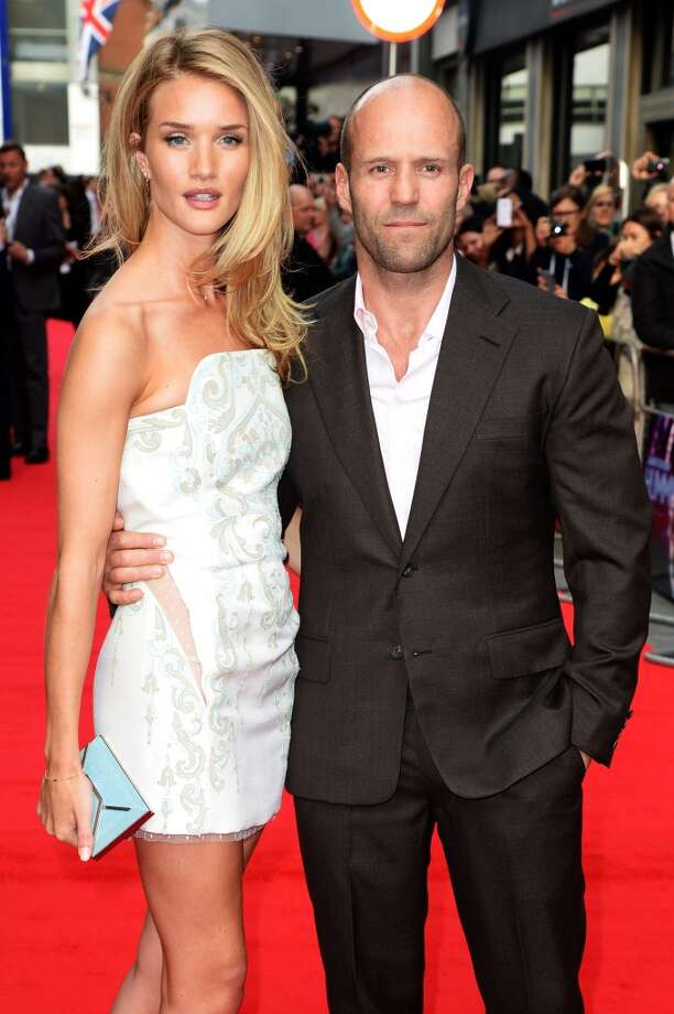 Jason Statham is now dating model Rosie Huntington-Whiteley. They began seeing each other in 2010. Photo: Dave J Hogan, Getty Images
