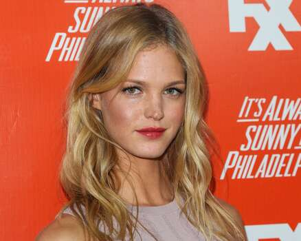 Model (and former Leonardo DiCaprio love interest) Erin Heatherton   Photo: Paul Archuleta, FilmMagic