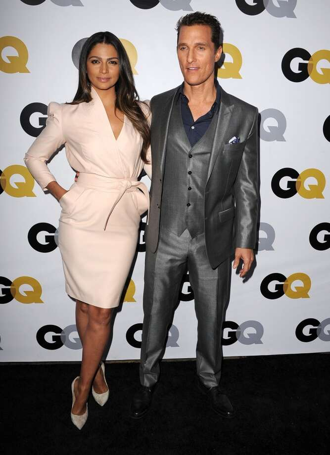 Though Camila Alves is mostly know for being Mrs. McConaughey these days, she was a model pre-Matthew. The couple met in 2006, married in 2012 and have three kids together. Photo: Steve Granitz, WireImage